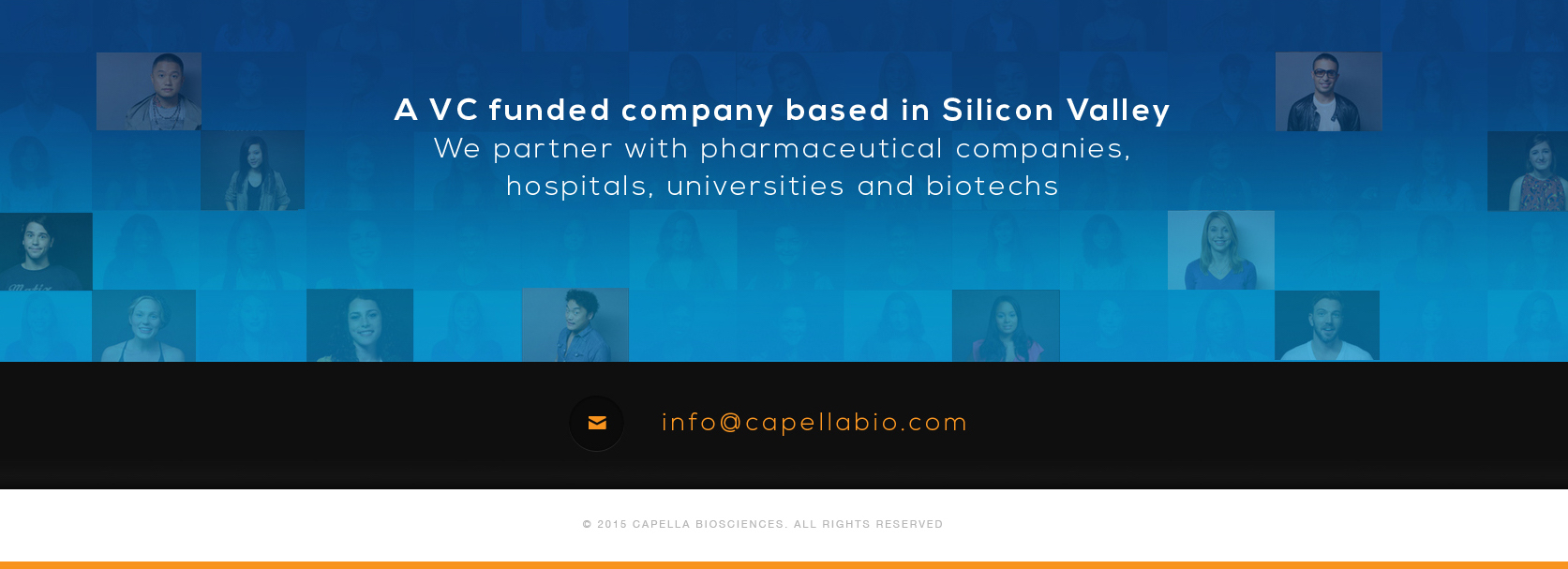 A VC funded computational pharmaceutical company based in Silicon Valley